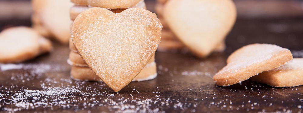 Valentine's Day – cute little heart shortbreads