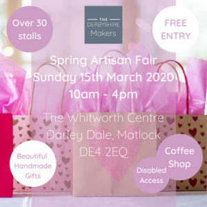 Derbyshire Makers Spring Fair 150320